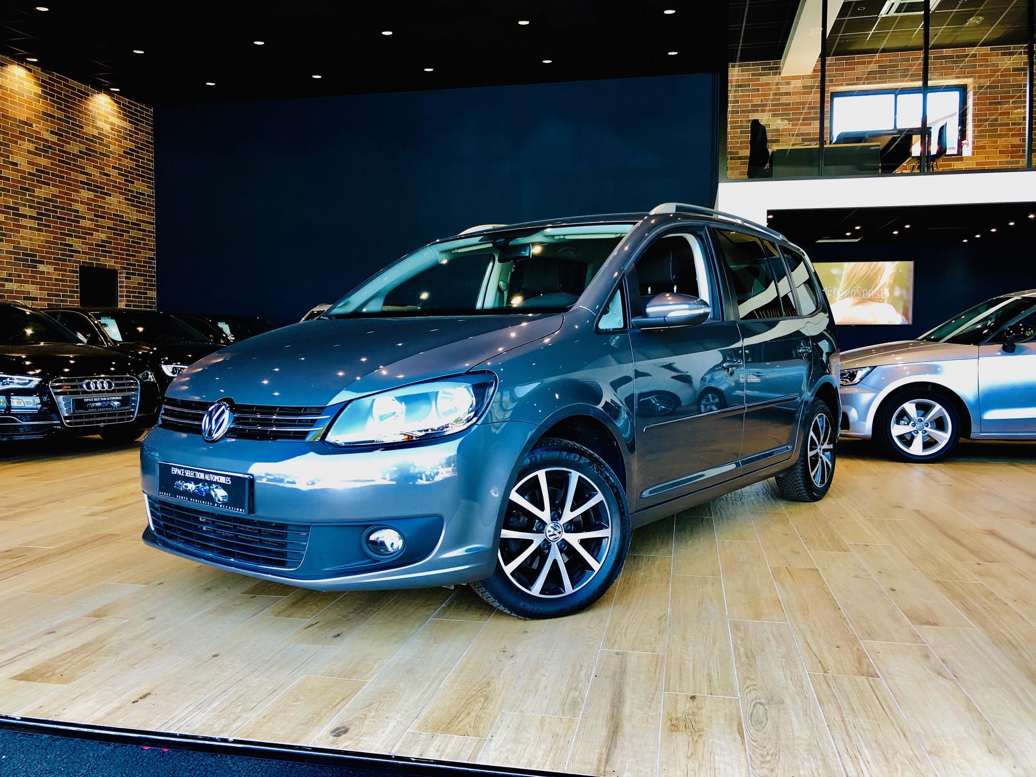 Occasion Volkswagen Touran 1.9 tdi 105cv Face Avant Droite