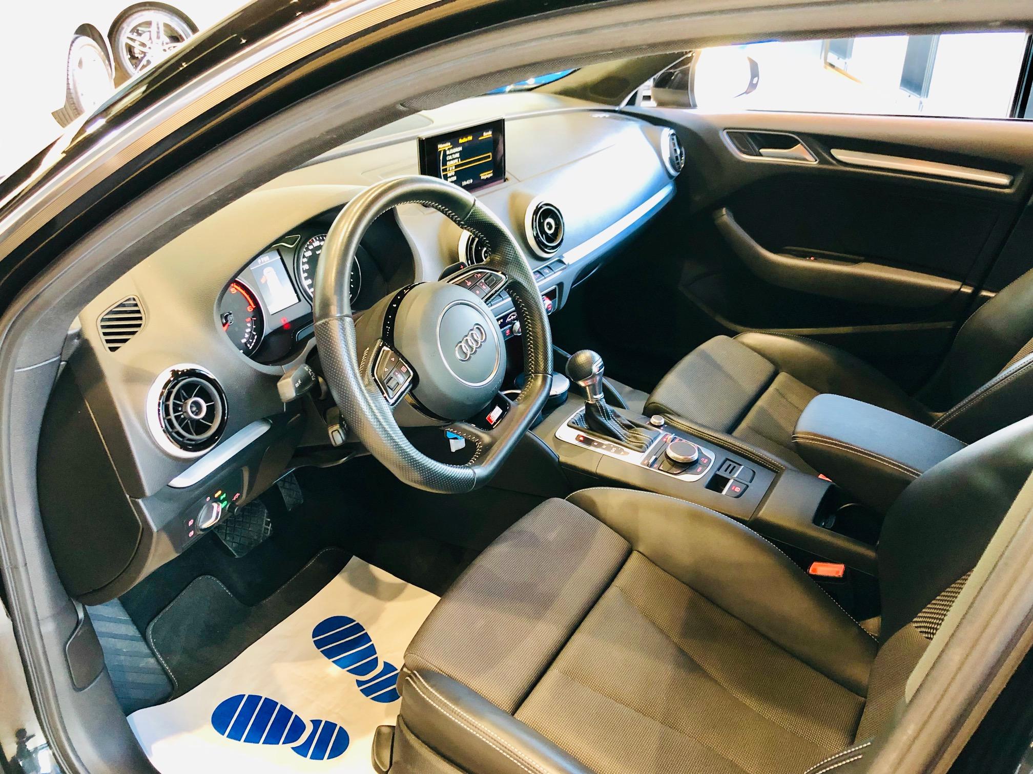 Occasion Audi A3 2.0 TDI 150cv Sportback Sline Face Avant Gauche
