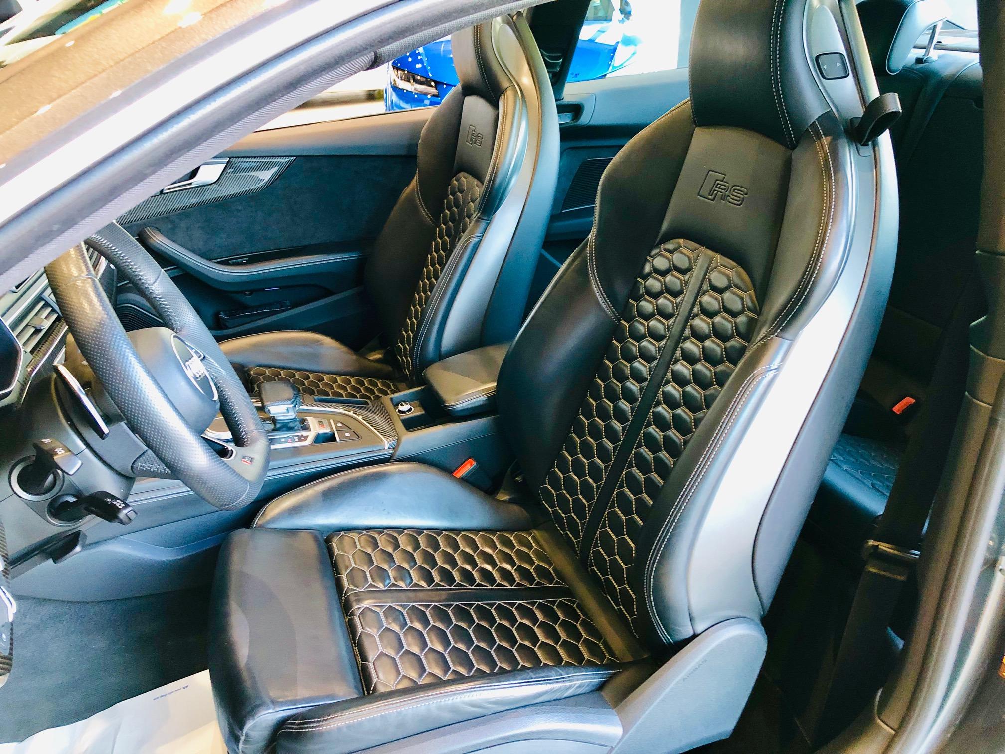 Occasion Audi RS5 2.9 v6 Biturbo 450cv Face Avant Gauche